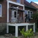 k-1 Holz Balkon