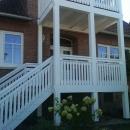 k-19 Holz Balkon