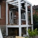 k-2 Holz Balkon