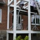 k-3 Holz Balkon