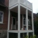 k-4 Holz Balkon