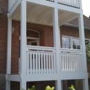 k-8 Holz Balkon