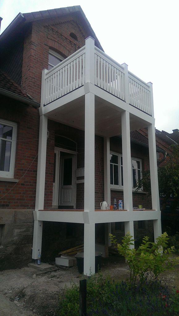 Holz Balkon Schaumburger Fenster