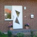 Haustür mit Fenster